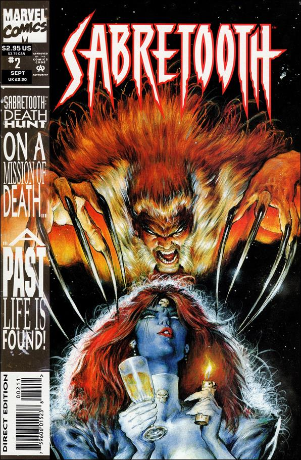 Sabretooth (1993) 2-A by Marvel