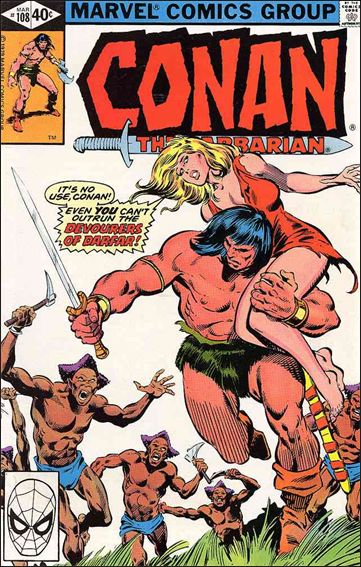 Conan the Barbarian (1970) 108-A by Marvel