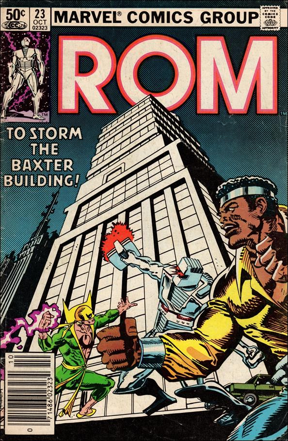 ROM (1979) 23-A by Marvel