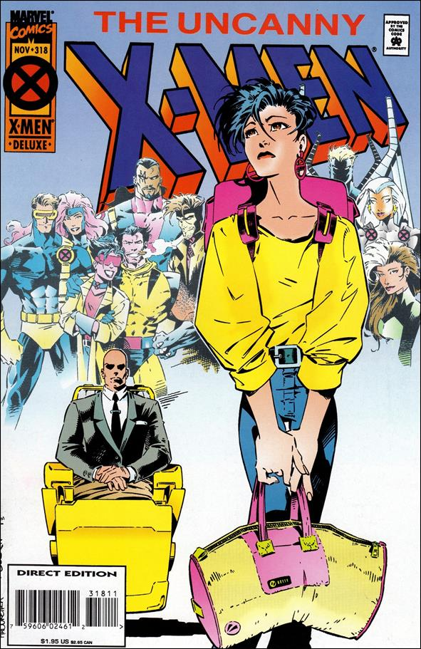 Uncanny X-Men (1981) 318-A by Marvel