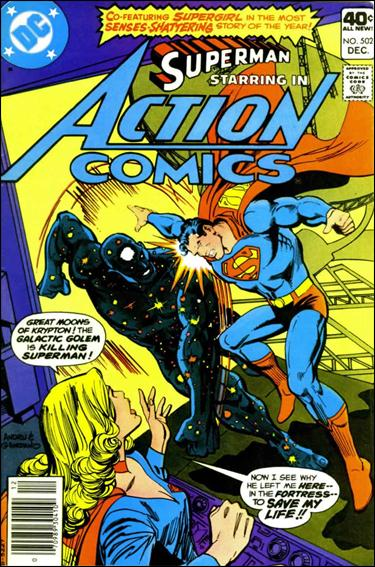 Action Comics (1938) 502-A by DC