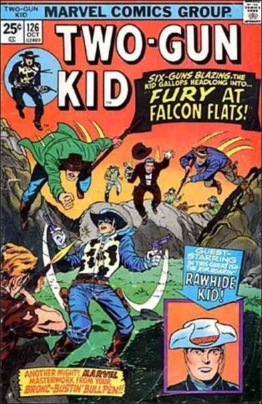 Two-Gun Kid 126-A by Marvel