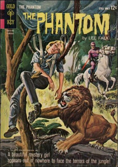 Phantom (1962) 6-A by Gold Key
