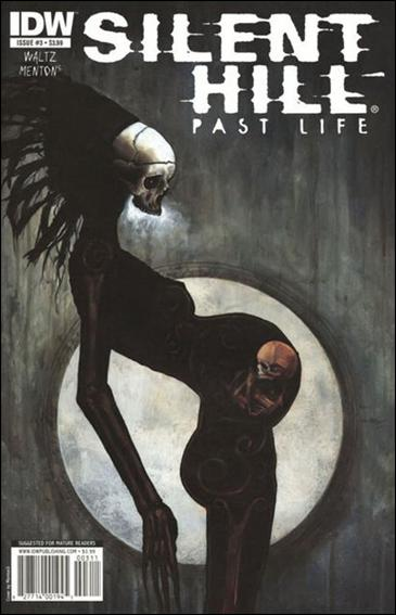 Silent Hill: Past Life 3-A by IDW