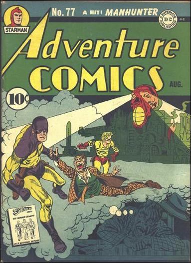 Adventure Comics (1938) 77-A by DC