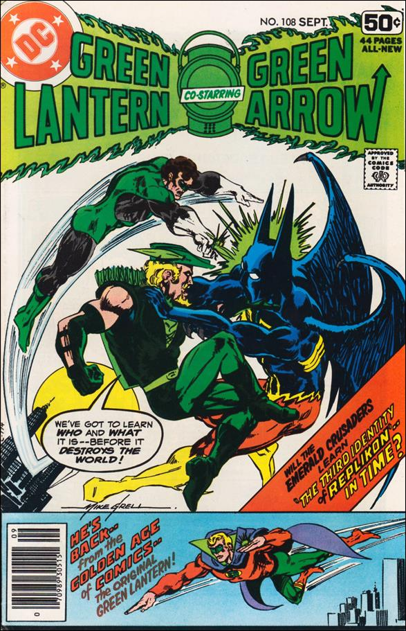 Green Lantern (1960) 108-A by DC