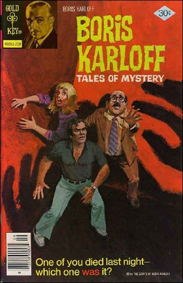 Boris Karloff Tales of Mystery 77-A by Gold Key