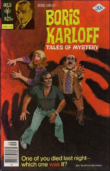 Boris Karloff Tales of Mystery 77-A by Gold Key