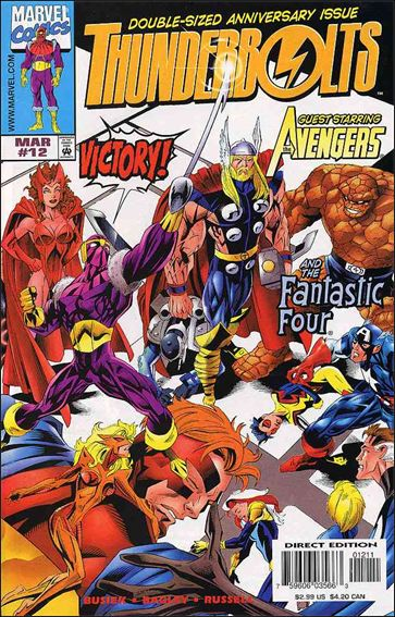 Thunderbolts (1997) 12-A by Marvel