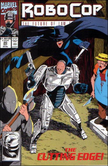 Robocop (1990) 20-A by Marvel