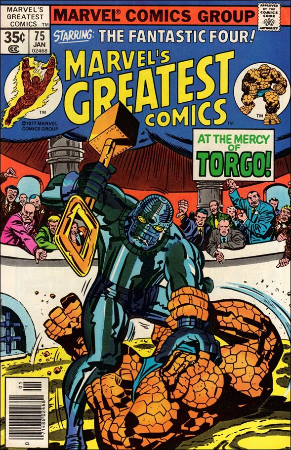 Marvel's Greatest Comics 75-A by Marvel