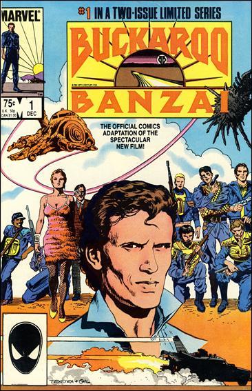 Buckaroo Banzai 1-A by Marvel