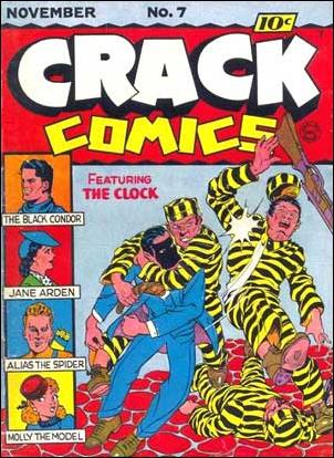 Crack Comics 7-A by Quality