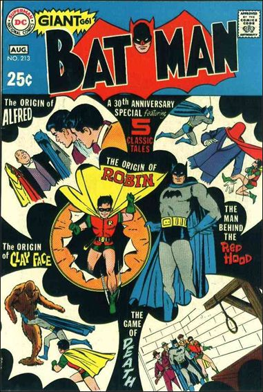 Batman (1940) 213-A by DC