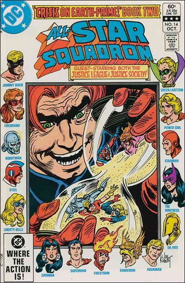 All-Star Squadron 14-A by DC