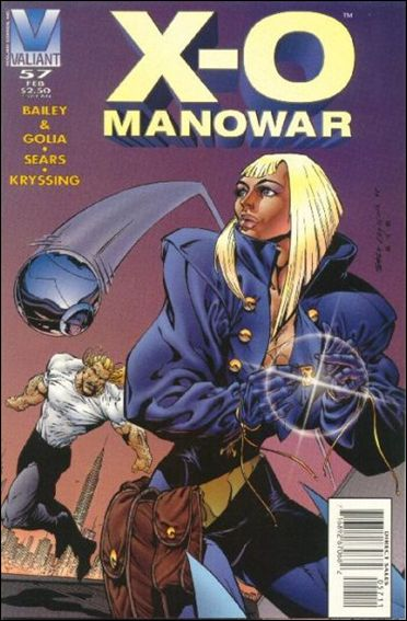 X-O Manowar (1992) 57-A by Valiant