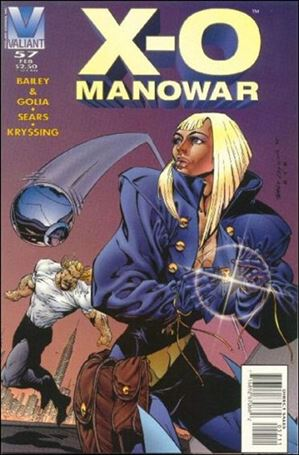 X-O Manowar (1992) 57-A