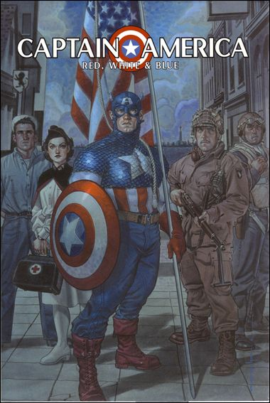Captain America: Red, White & Blue 1-A by Marvel