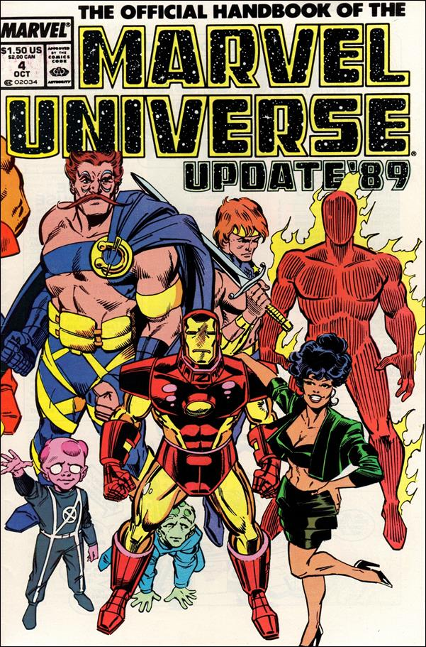Official Handbook of the Marvel Universe (1989) 4-A by Marvel