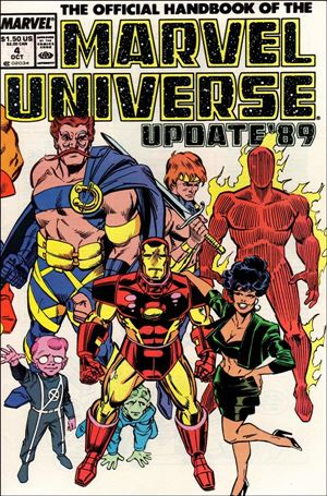 Official Handbook of the Marvel Universe (1989) 4-A