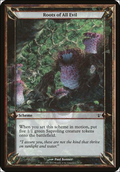 Magic the Gathering: Archenemy (Scheme Subset)37-A by Wizards of the Coast