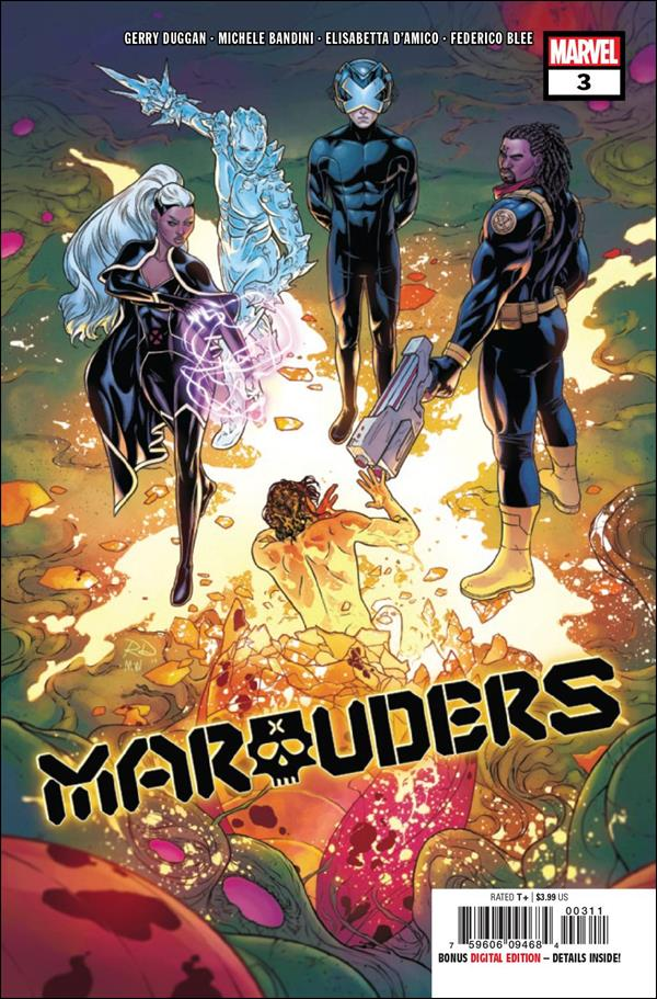 Marauders 3-A by Marvel