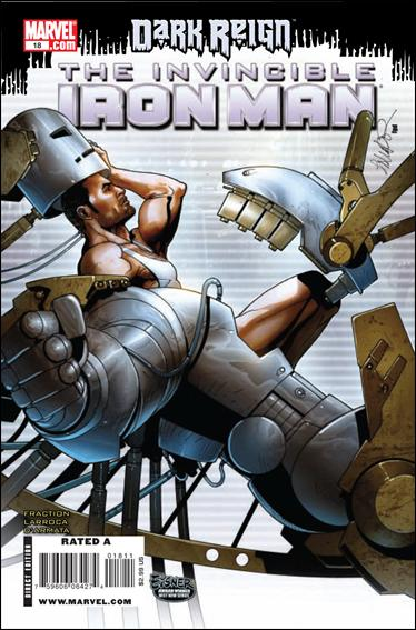 Invincible Iron Man (2008) 18-A by Marvel