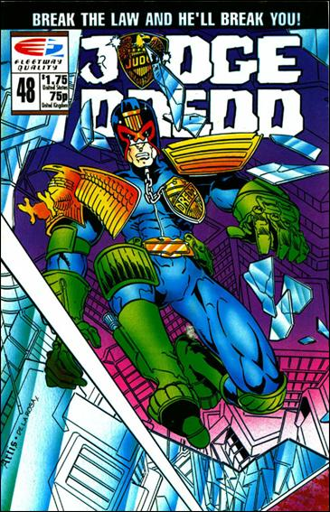 Judge Dredd (1986) 48-A by Quality Comics
