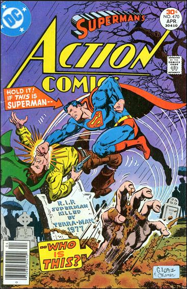 Action Comics (1938) 470-A by DC