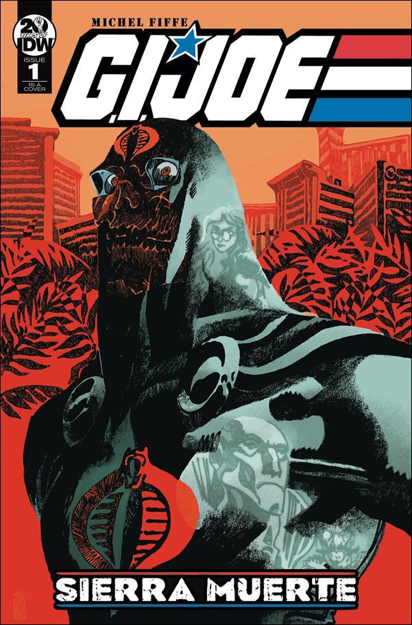 G.I. Joe: Sierra Muerte 1-C by IDW
