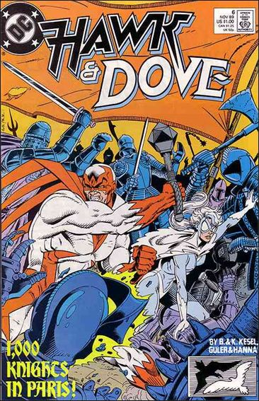 Hawk and Dove (1989) 6-A by DC