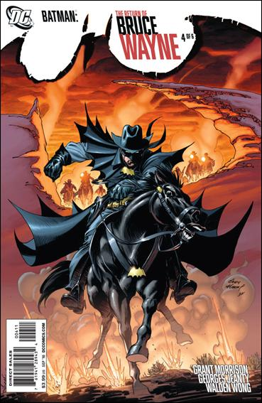 Batman: The Return of Bruce Wayne 4-A by DC