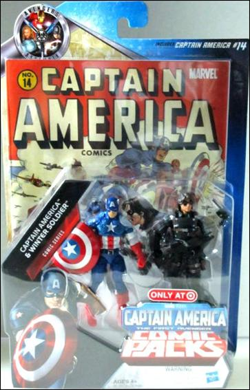 Marvel Universe: Captain America    Captain America and