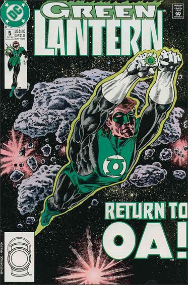 Green Lantern (1990) 5-A by DC