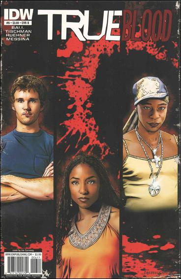 True Blood (2010) 6-B by IDW