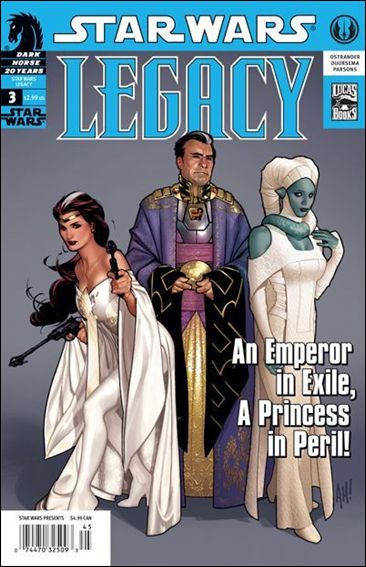 Star Wars: Legacy (2006) 3-A by Dark Horse