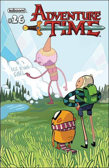 Adventure Time 26-A by Kaboom!