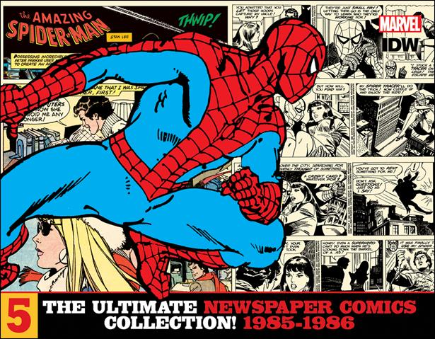 Amazing Spider-Man: The Ultimate Newspaper Comics Collection 5-A by IDW
