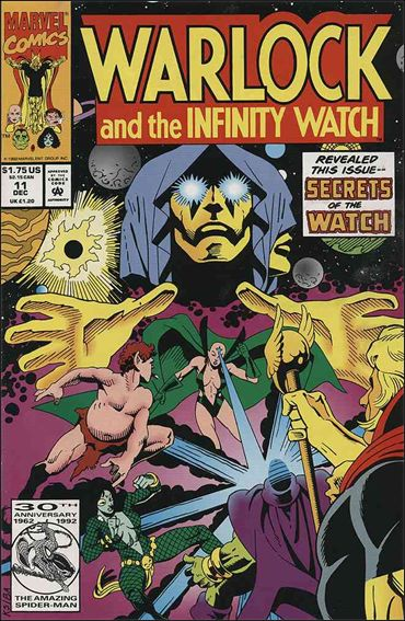 Warlock and the Infinity Watch 11-A by Marvel