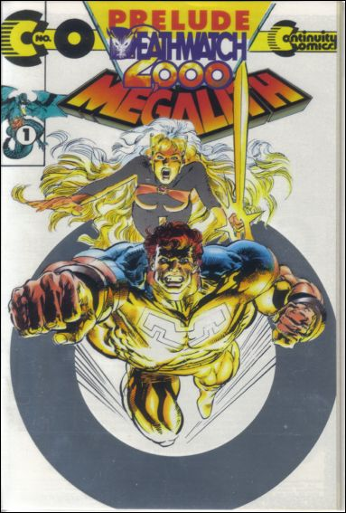 Megalith (1993) 0-B by Continuity Comics