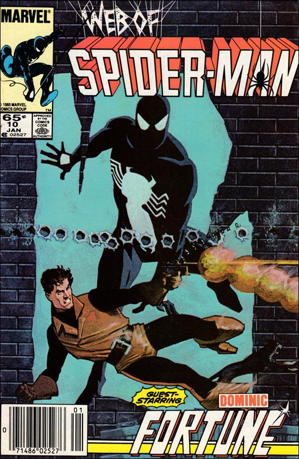 Web of Spider-Man (1985) 10-A by Marvel
