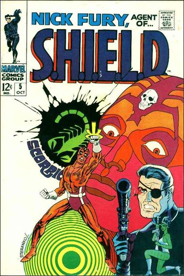 Nick Fury, Agent of S.H.I.E.L.D. (1968) 5-A by Marvel