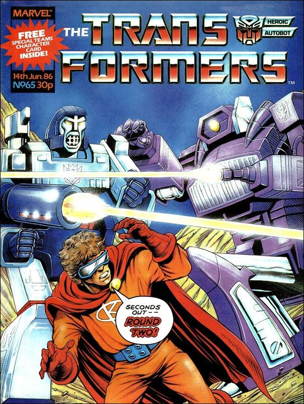 Transformers (UK) 65-A by Marvel UK