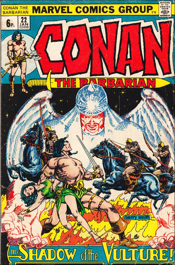 Conan the Barbarian (1970) 22-B by Marvel