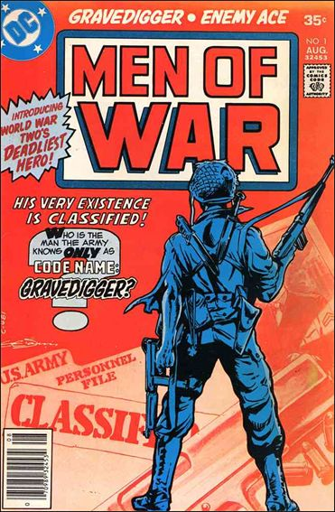 Men of War (1977) 1-A by DC