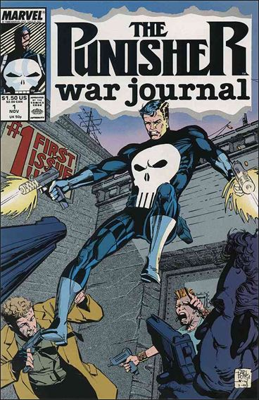 Punisher War Journal (1988) 1-A by Marvel