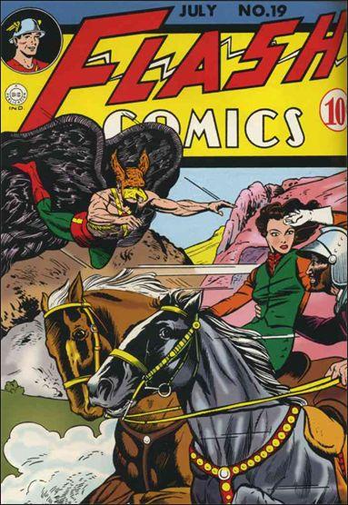 Flash Comics (1939) 19-A by DC