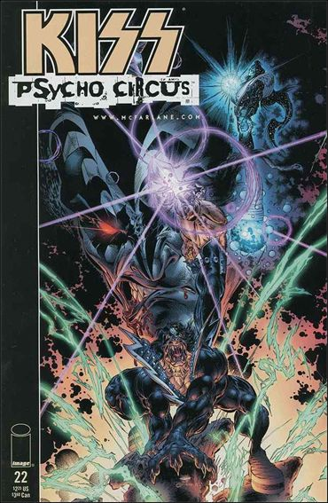 Kiss: Psycho Circus 22-A by Image