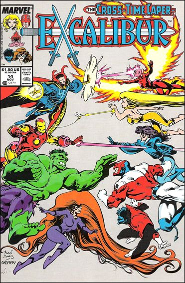 Excalibur (1988) 14-A by Marvel