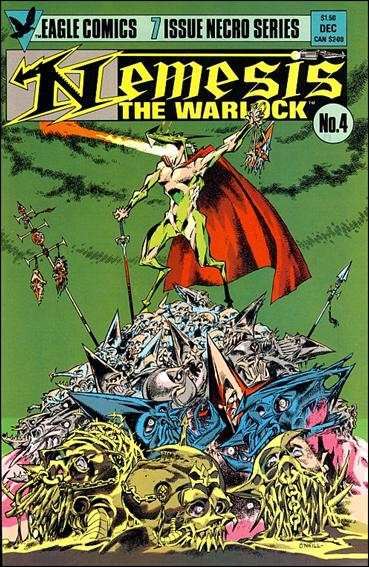 Nemesis the Warlock (1984) 4-A by Eagle